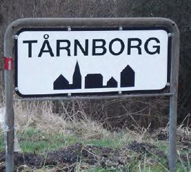 Tårnborg Byskilt